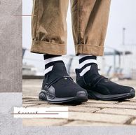 虎头刺绣+李宁云科技,男士 勇气一体织透气袜子低帮运动鞋