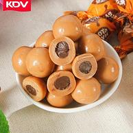 俄羅斯進口:KDV 榛子果醬夾心奶球糖 500gx2件