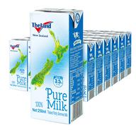 2小时结束 250mlx24盒x4件,新西兰 Theland 纽仕兰 部分脱脂牛奶
