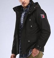 奥莱专享、接缝全压胶外壳 :伯希和 男女防风防水 三合一冲锋衣