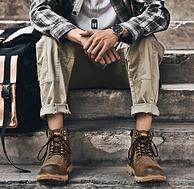 买手好评到爆的品牌 18款:固特异 男士真皮马丁靴