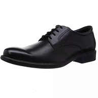 Geox 健樂士 UOMO CARNABY D 男士圓頭系帶皮鞋