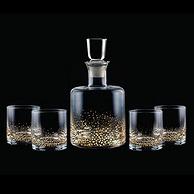 亞馬遜銷冠!Fitz and Floyd 金斑酒器套裝 盛酒器+酒杯