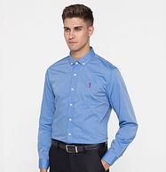 世界军运会供应商 28款 100%棉:美国 Golf 男士衬衫