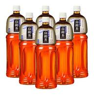 大瓶装,0糖,解渴:三得利 无糖乌龙茶 1.25Lx24瓶