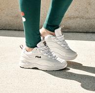 今日结束 再降30元: FILA 斐乐 RAY系列 女士复古运动鞋