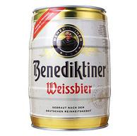 Benediktiner 百帝王 小麦白啤酒 5Lx3件