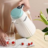 新低!紅膽玻璃內膽+24小時保溫:1L 德國e·dish/壹滴水 保溫水壺