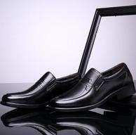Plus會員,頭層牛皮+頭層豬皮:2雙 紅蜻蜓 男士 商務休閑皮鞋 WTA64631