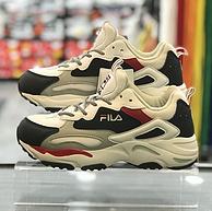 Fila 斐乐 RAY TRACER系列 女款复古运动鞋老爹鞋 FS1SIB1180X