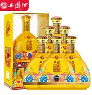 4.9分 500mlx6瓶:西鳳酒 傳世古窖 52度濃香型白酒