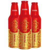 今日结束 355mlx12瓶x2件,青岛啤酒 高端瓶 鸿运当头