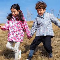 5分 加绒防水:加拿大 Twinklebelle 儿童冲锋衣