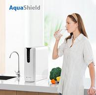 RO反渗透+无桶+直饮:400G x2件 AquaShield 京选 JPA400 纯水机