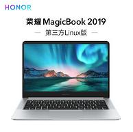 Honor 荣耀 MagicBook 2019 14寸 笔记本电脑( i3-8145U、8G、256G)