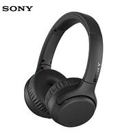 支持AAC+aptX、30小时续航:SONY 索尼 WH-XB700 头戴式蓝牙耳机 官翻版