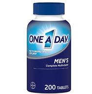 德国拜耳 21种营养素 200粒 one a day 男性复合维生素片