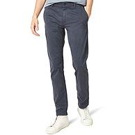 97%弹力棉,BOSS Orange 橙标 Schino-Slim D 男士直筒修身休闲长裤