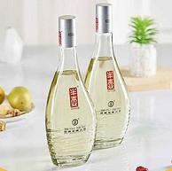高端系列,人参总皂苷5mg+:500mlx6瓶 劲牌 半壶酒 42度复合香型白酒