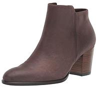 US6-6.5码,ECCO 爱步 Shape 55型塑系列 女士磨砂牛皮短靴