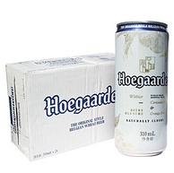 Hoegaarden 福佳啤酒 白啤酒比利时风味 310mlx4听x6组x2件