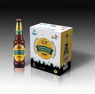 俄罗斯进口 百威英博 西伯利亚王冠精酿啤酒 470mlx6瓶x6件