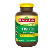 小半年量:Nature Made 天維美 Omega-3魚油 175粒x2瓶