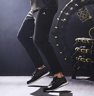 商場同款,透氣速干:迪卡儂 男士 收口寬松直筒休閑運動褲