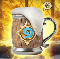 酒馆老板同款,Blizzard/暴雪 炉石传说周边 新版酒桶杯马克杯 900ml