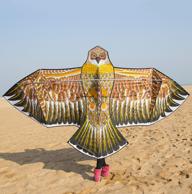钢架结构+翼展1.6米:九天  大钢鹰风筝