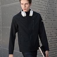 商场同款,防水5000+:诺诗兰 男士 防风保暖软壳衣冲锋衣