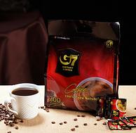 2gx200袋,中原G7 美式萃取速溶纯黑咖啡