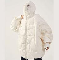 可当简易防护服:ownete YR010 蒙面外星人羽绒服