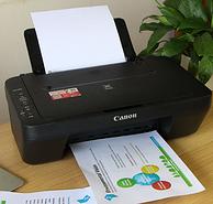 打印復印掃描三合一,佳能 家用彩色噴墨一體機 MG2580S