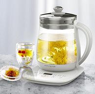 24小时预约,智能变频:1.5L 九阳 多功能炖煮养生壶+煮茶器