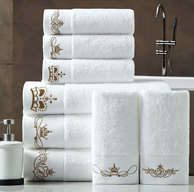 五星级浴巾、超大:140x70cm 500g 鸿创 进口精梳棉