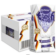 蛋白质达3.6g、考拉自营团!200mLx12盒x2箱 德国 LACHEER 兰雀脱脂纯牛奶