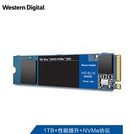 读取速度2400mb/s,4通道PCIe:西部数据 1TB 固态硬盘SN550 M.2 NVMe