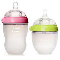 预售:comotomo 可么多么 宽口径硅胶奶瓶 250ml+150ml
