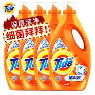 汰渍 全效360度洗衣液套装 2kgx4瓶x2件