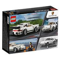 5日0点:3件!LEGO 乐高 Speed 赛车系列 75895 1974年保时捷911Tubro 3.0