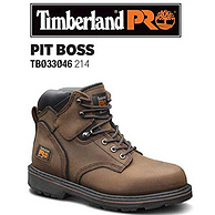 8.5W码:Timberland PRO 男式 Pitboss 6英寸 软头靴子