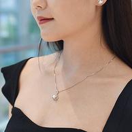 限今日,S925银+7mm淡水珍珠:京润珍珠 欲望都市系列珍珠吊坠