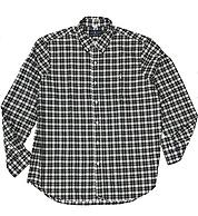 L码、100%纯棉,POLO Ralph Lauren 拉夫劳伦 男士经典格纹牛津衬衫