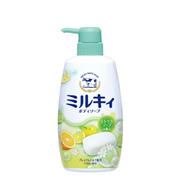 COW 牛乳石碱柚子活力沐浴露 550mlx3瓶