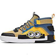 小黄人联名款:361°  男士高帮运动休闲鞋