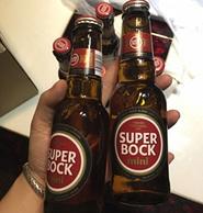 葡萄牙進口:200mlx6瓶 Superbock/超級伯克 黃啤酒拉環瓶裝