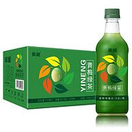 依能 青梅绿茶饮料 500mlx15瓶