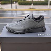 44码、销量第一:ECCO 爱步 19年新款 Exostride 男士系带运动鞋 835314