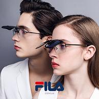 商场同款 仅重9g:FILA 偏光墨镜夹片